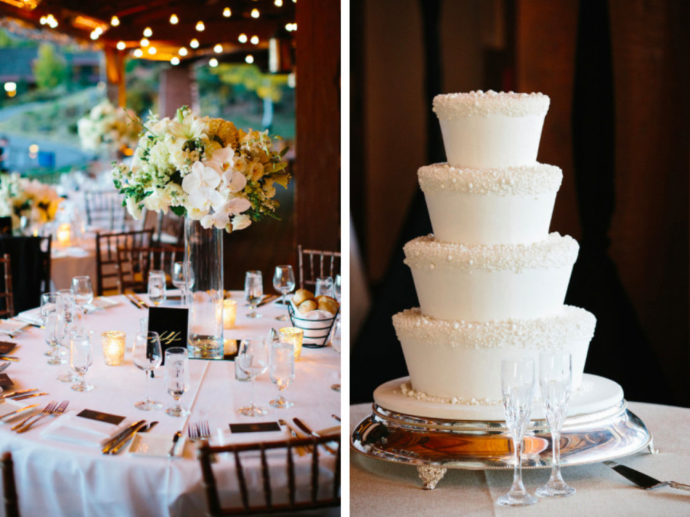 formal wedding table design