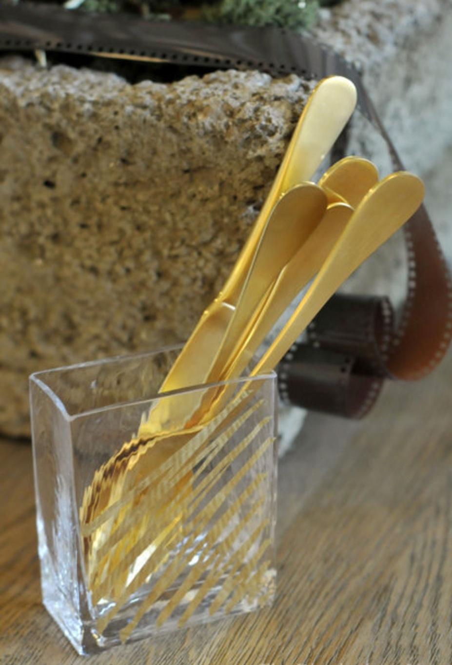 A Golden Spoon...