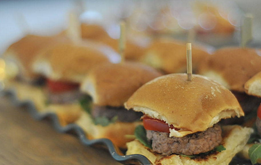 Sliders are a Crowd Favorite