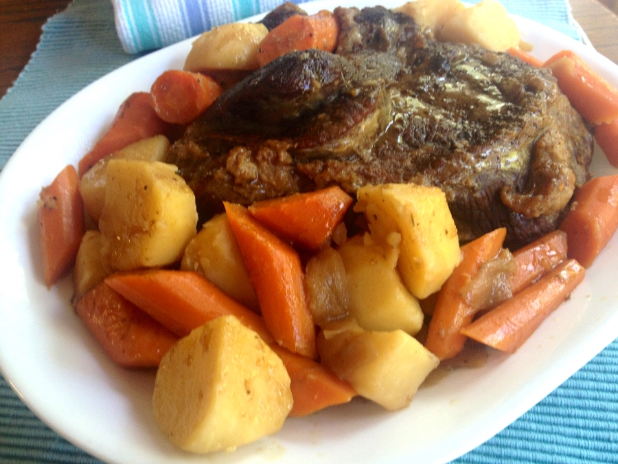 Sunday Pot Roast after church was a standard at our house but my mom never wrote down the recipe. It took me 10 years after she passed away to recreate it and have it taste exactly the same as I remember.