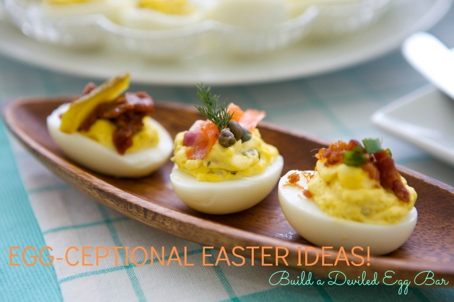 How to Make a Deviled Egg Bar