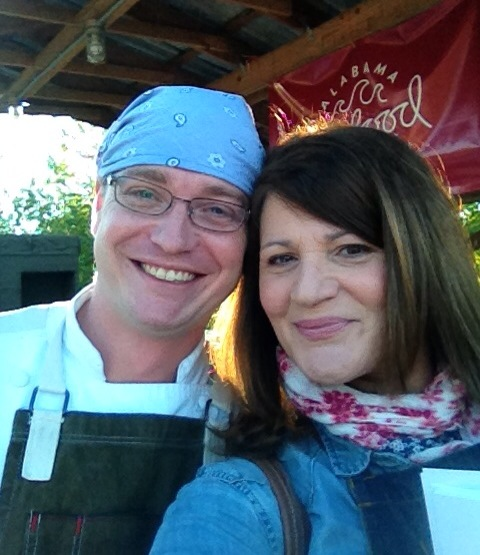 Chef Brody Olive and Martie Duncan Alabama Gulf Seafood