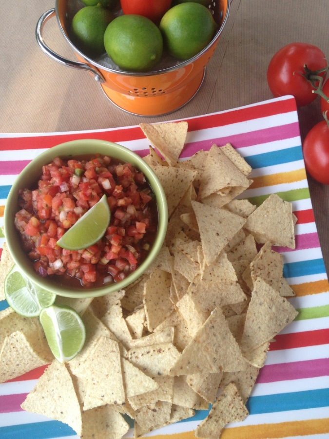 This salsa recipe will become your favorite for fast and easy summer entertaining. Add a cold beer and something off the grill and you're done.