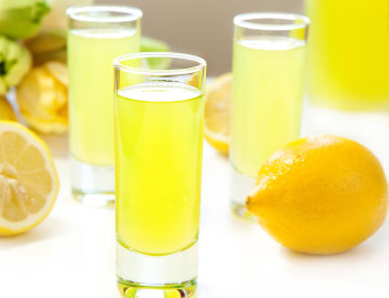 Homemade limoncello is a great ending for a summer dinner party!