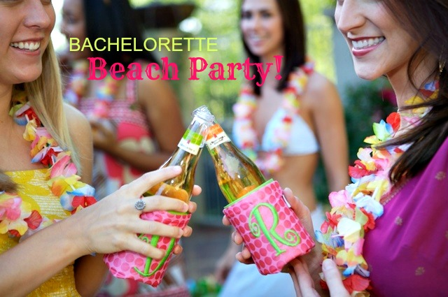 PARTY THEME HOST A BACHELORETTE BEACH SPA PARTY Martie Duncan