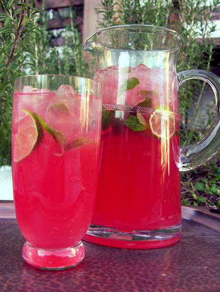 BLOOD ORANGE MOJITO RECIPE