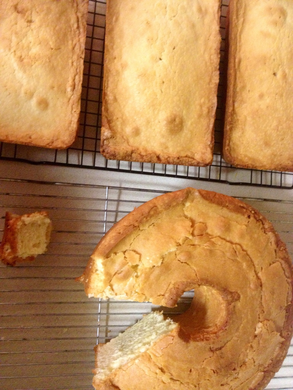 My Mom's Pound Cake Recipe