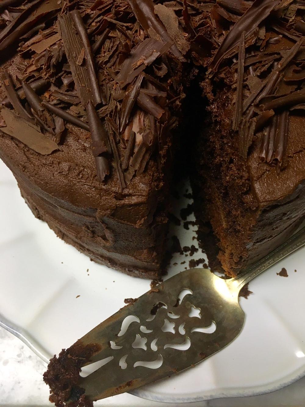 Recipe The Best Ever Chocolate Birthday Cake With Chocolate