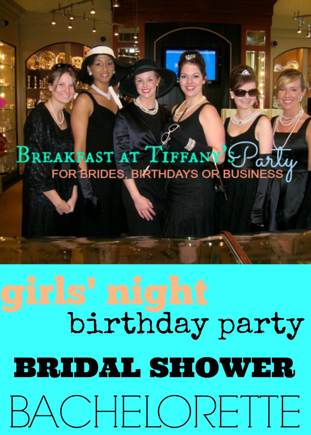 PARTY THEME: HOST A BREAKFAST AT TIFFANY\'S PARTY — Martie Duncan