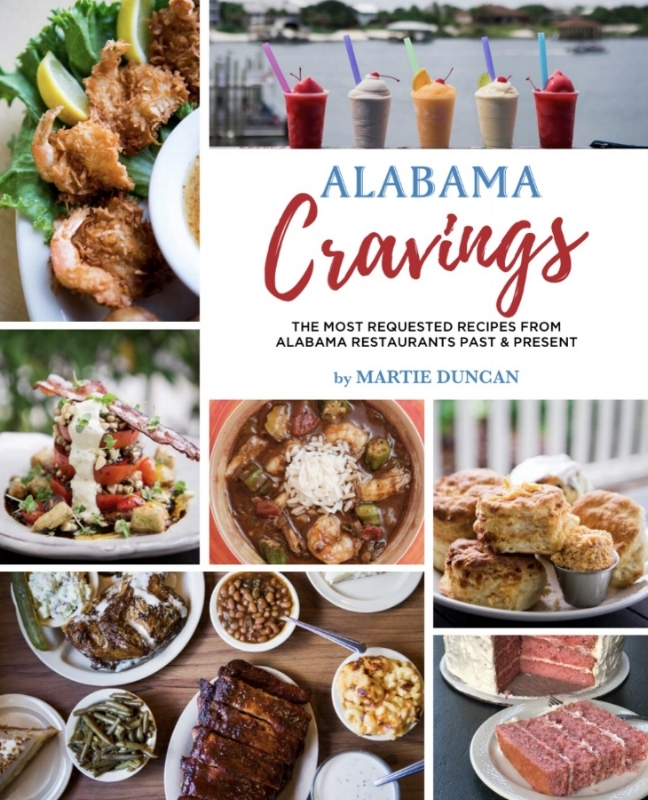 Alabama Cravings cookbook by Martie Duncan