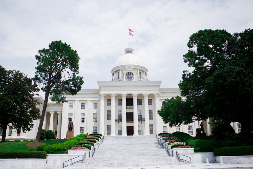 Alabama State Capitol Montgomery Copyright Alabama Cravings
