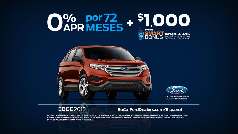 """Ford """"Smart Bonus"""" Offer Card"""