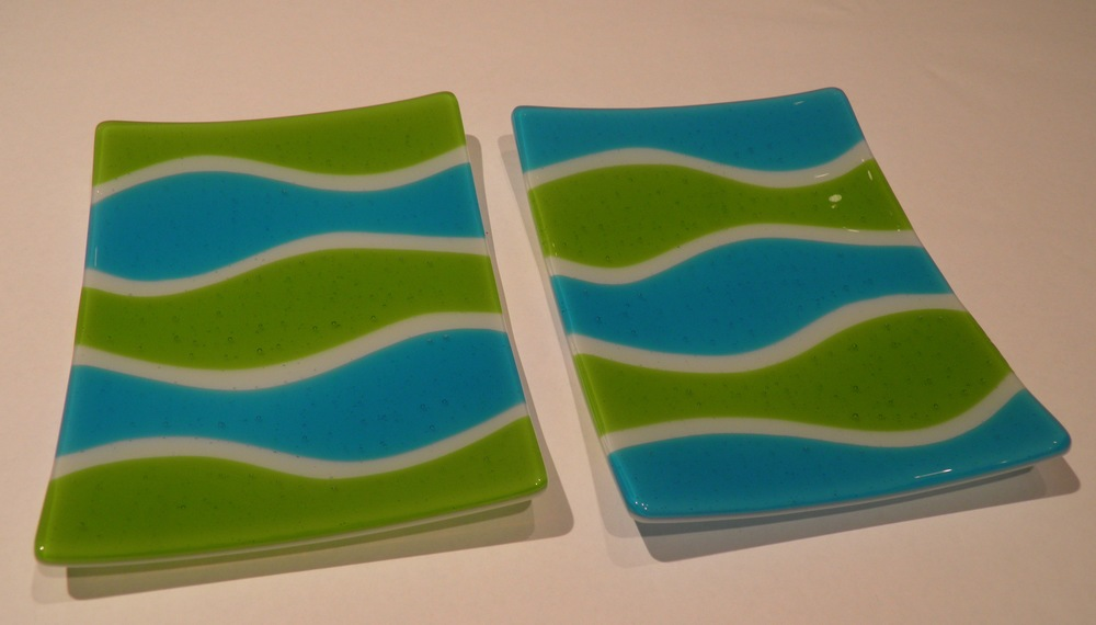 green & blue wave plates