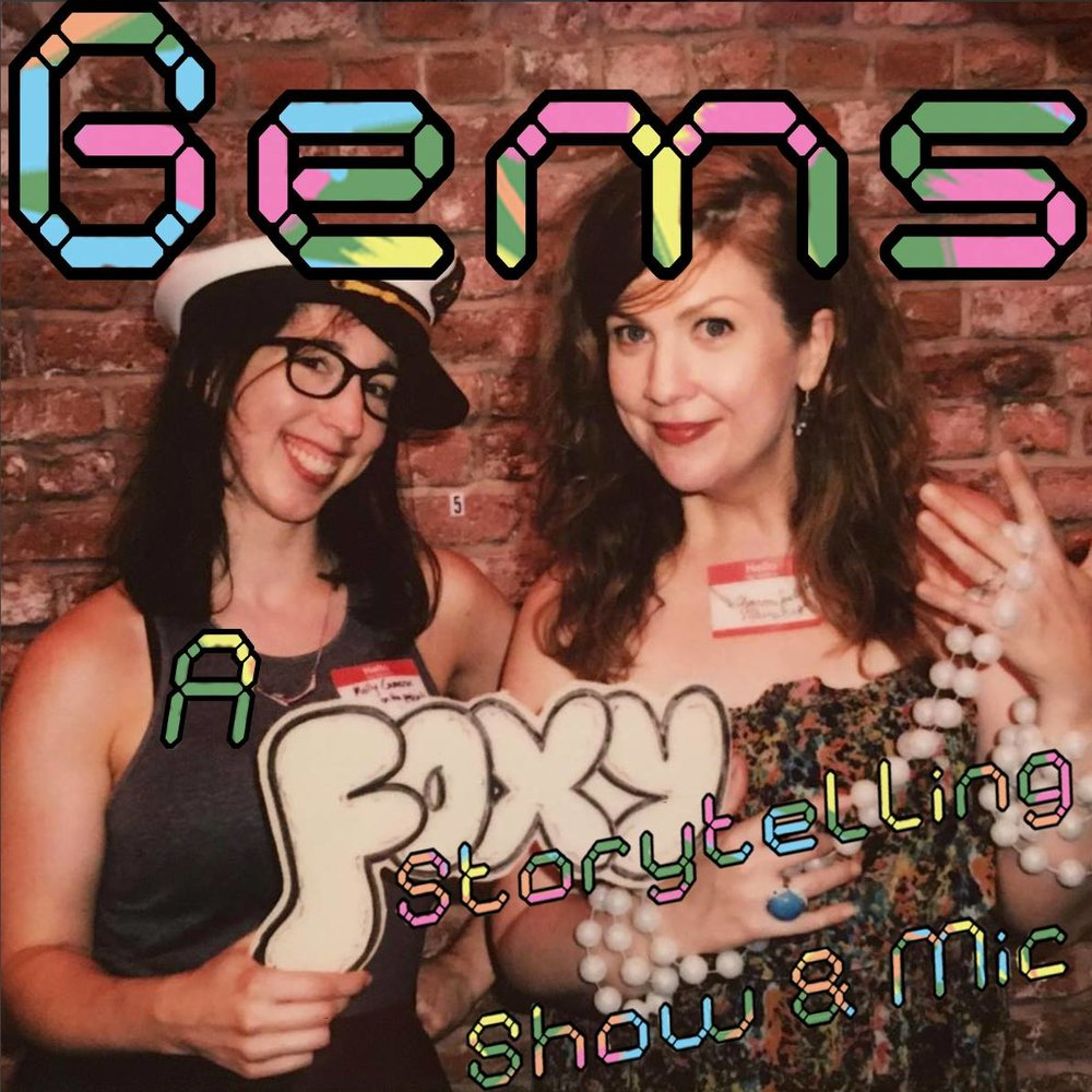 Gems: A Storytelling Show & Mic - The fourth Tuesday of every month at Halyards in Brooklyn, co-hosted with Sharon Spell.See my calendar for all upcoming shows.