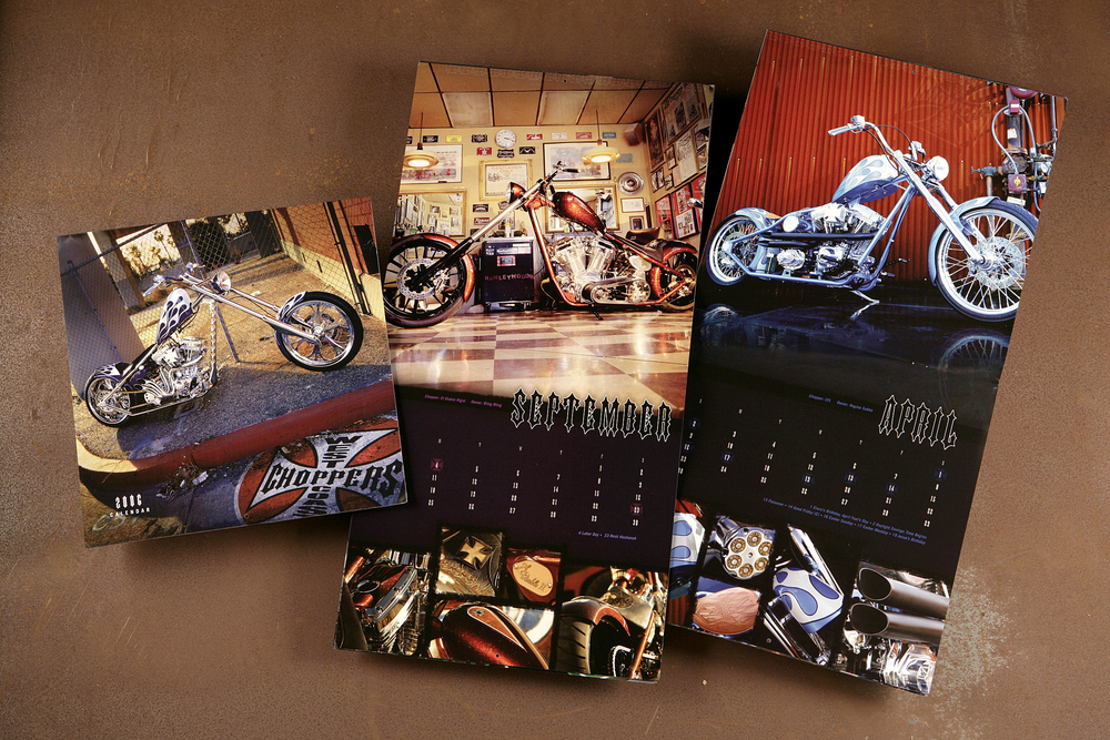 West Coast Choppers Calendar