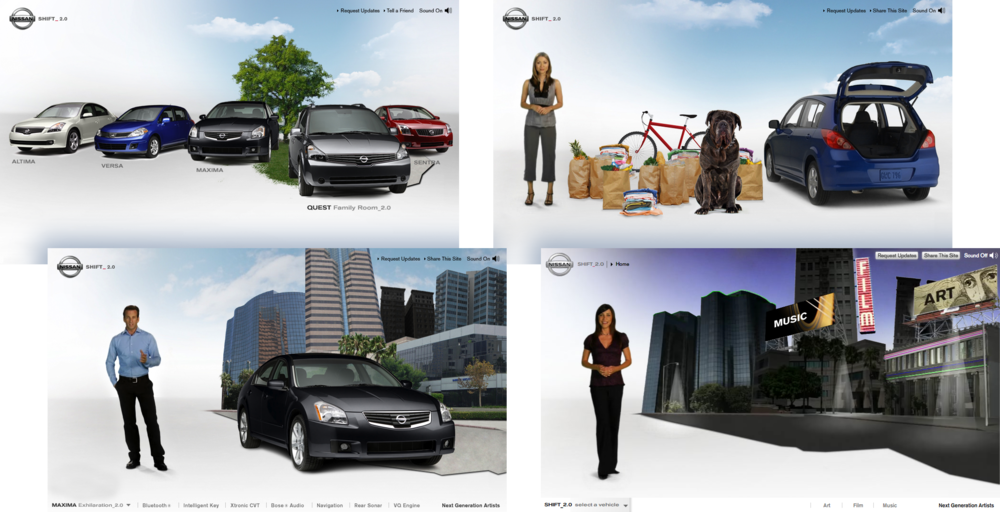 Nissan SHIFT_2.0 Campaign