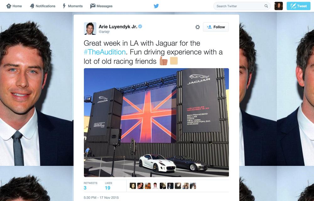Jaguar Art Of Performance Tour – Social Media
