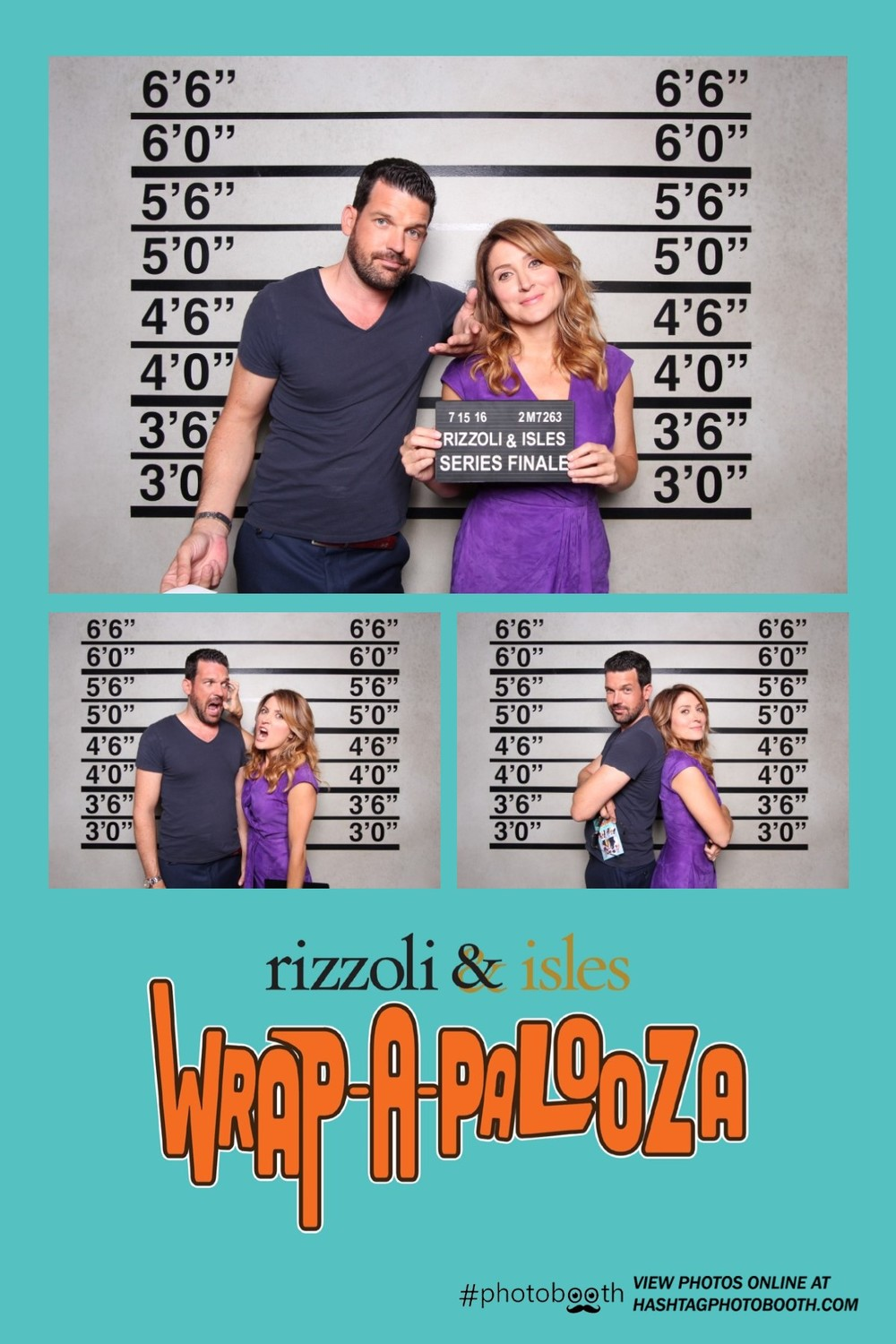 Rizzoli & Isles Wrap Party