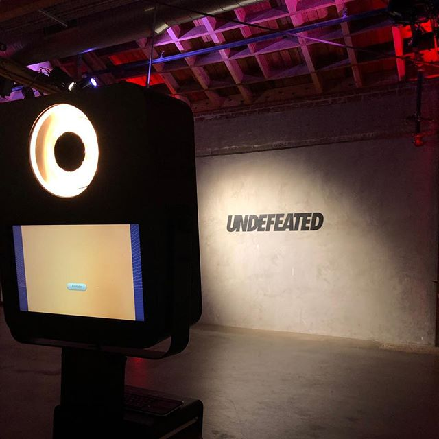 UNDEFEATED Airways Presents: Red Eye #sneakerlaunch @adidasoriginals @undefeatedinc #brandedphotobooth #animatedgifs
