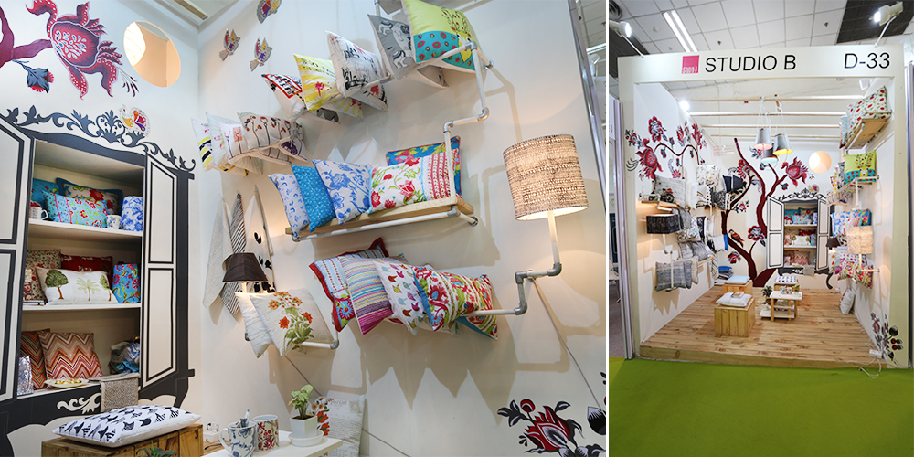 Studio B, Heimtextil India, New Delhi, 2014