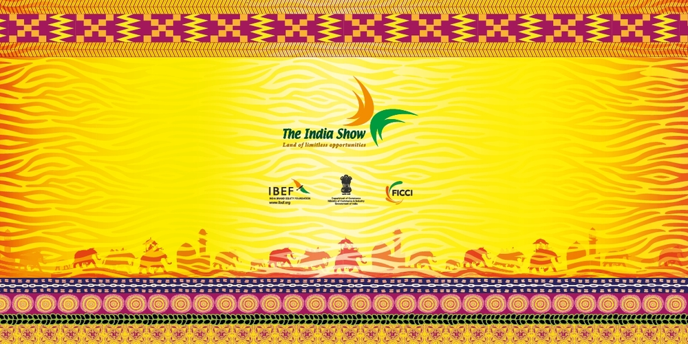 Graphic Banner, The India Show, Ghana, 2012