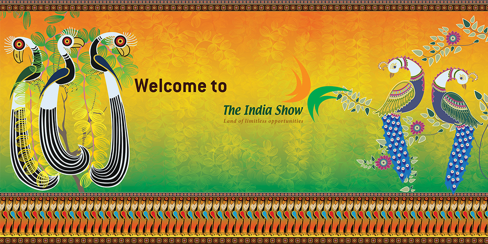 Graphic Banner, The India Show, Tanzania, 2013