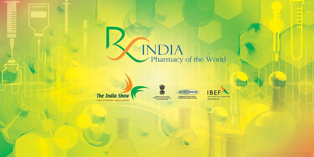 Graphic Banner, Rx India, Pharma show, Frankfurt,2013