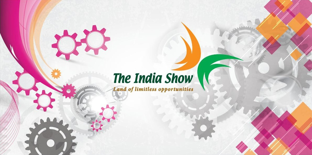 Graphic Banner, The India show at MSV International Fair, Brno, Czech Republic, 2012