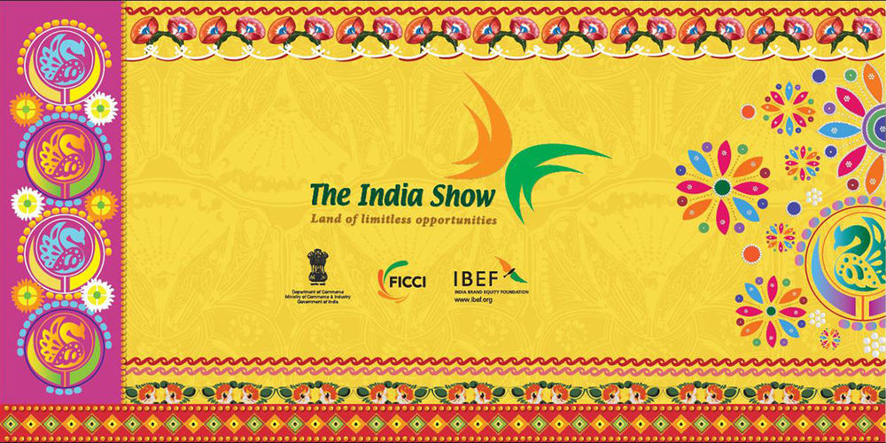 Graphic Banner, The India Show, Bangladesh, 2013