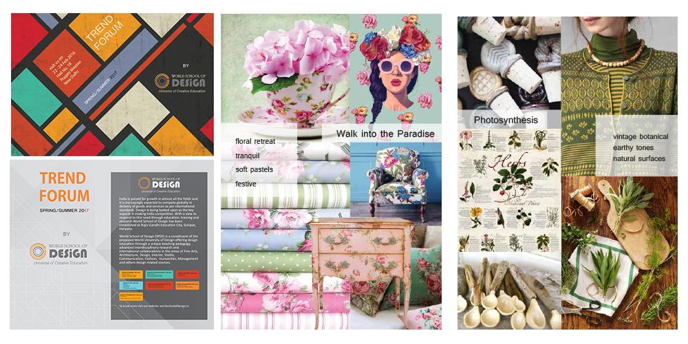 Brochure/Graphics,Trend Forum, Texstyles 2016