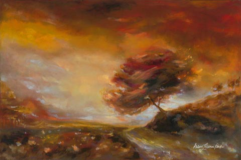 Red Valley Storm - Karen Lorena Parker
