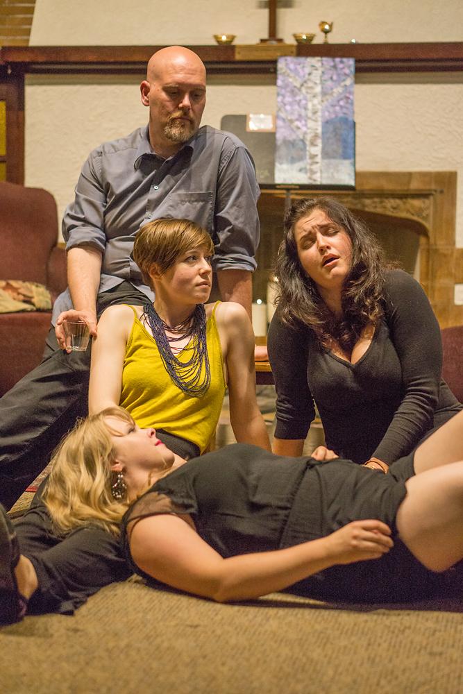Daniel, Jena, Kala and Vakare sing their feelings and memories.