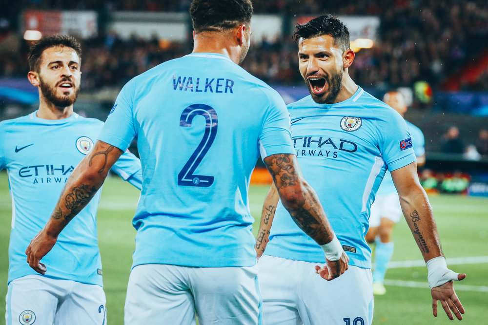 Aguero September 13th Feyernoord away