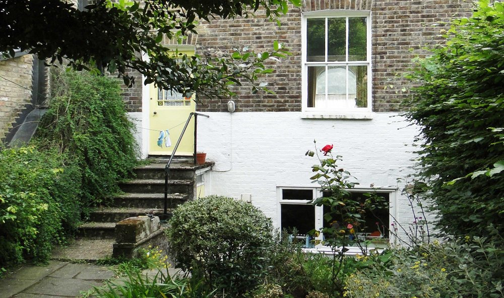Extension and refurbishment of Grade II listed house on Grove Lane in Denmark Hill, Southwark.