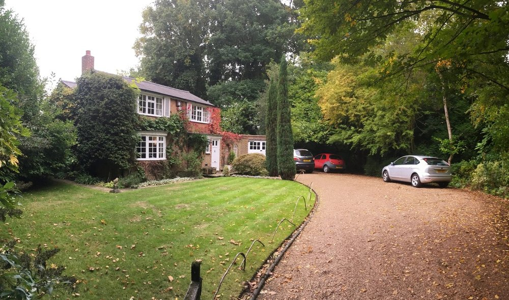 Extension to a detached house 'Keepers Cottage' Claygate in Esher.