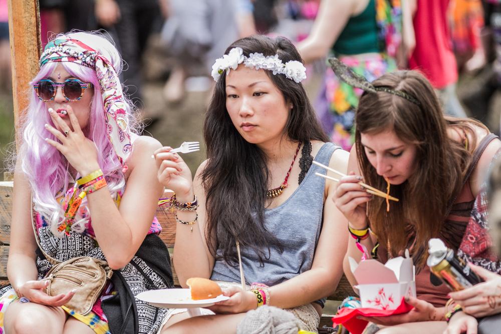 Lunchtime, Eden Festival