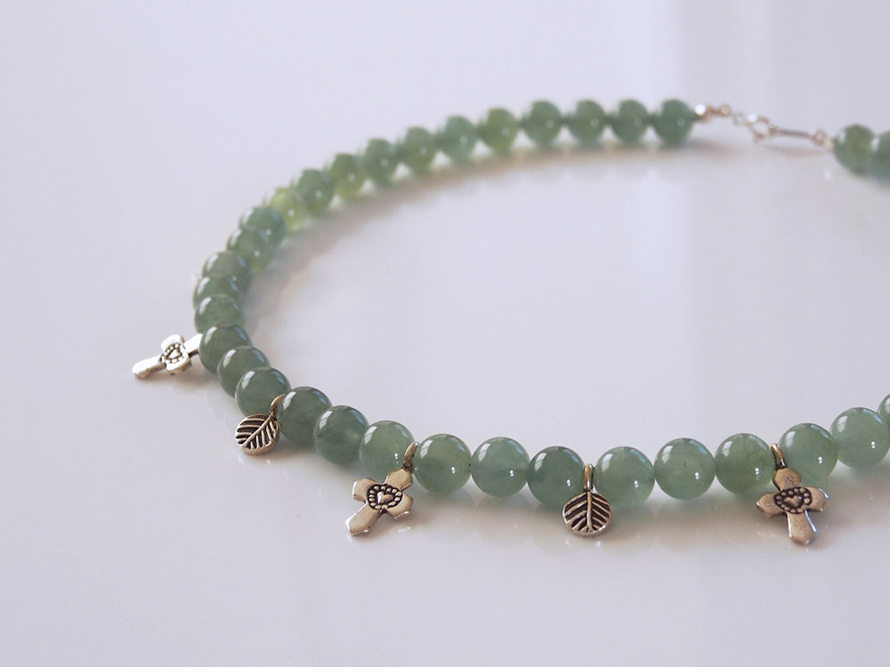 Green Beryl, Silver