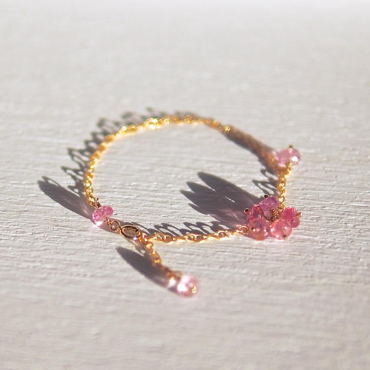 Pink Spinel Bracelet