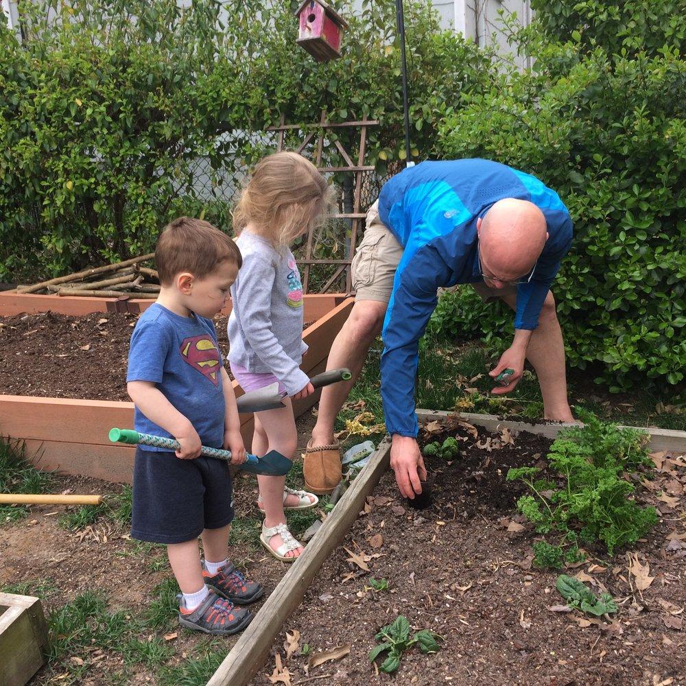 brian camarote family garden