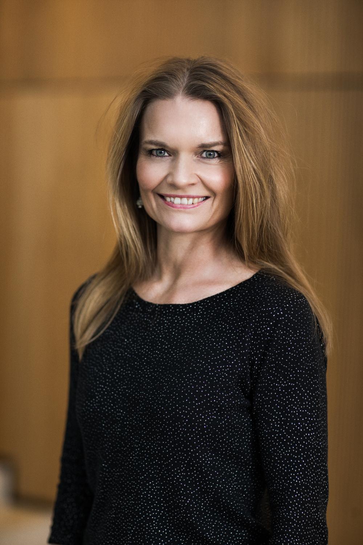 Portræt af Nina H. Kluge dommer ved Danish Beauty Award2014