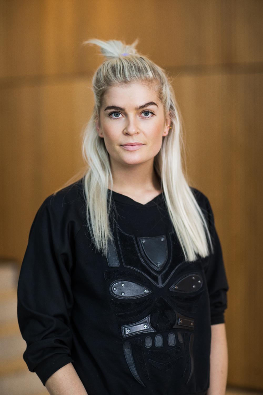 Portræt af Mette Thorsgaarddommer ved Danish Beauty Award  2014