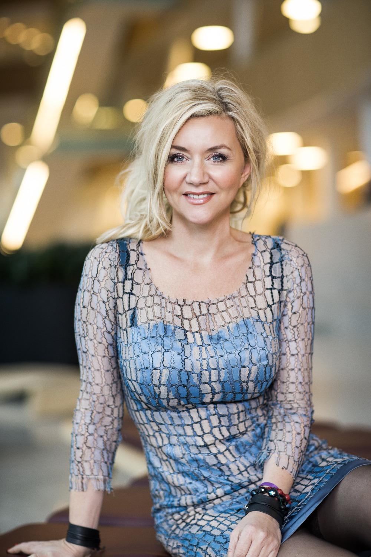 Portræt af Pernille Aalund dommer ved Danish Beauty Award  2014