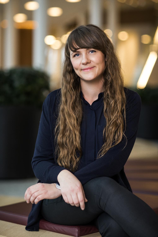 Portræt af Johanne Danshøjdommer ved Danish Beauty Award  2014