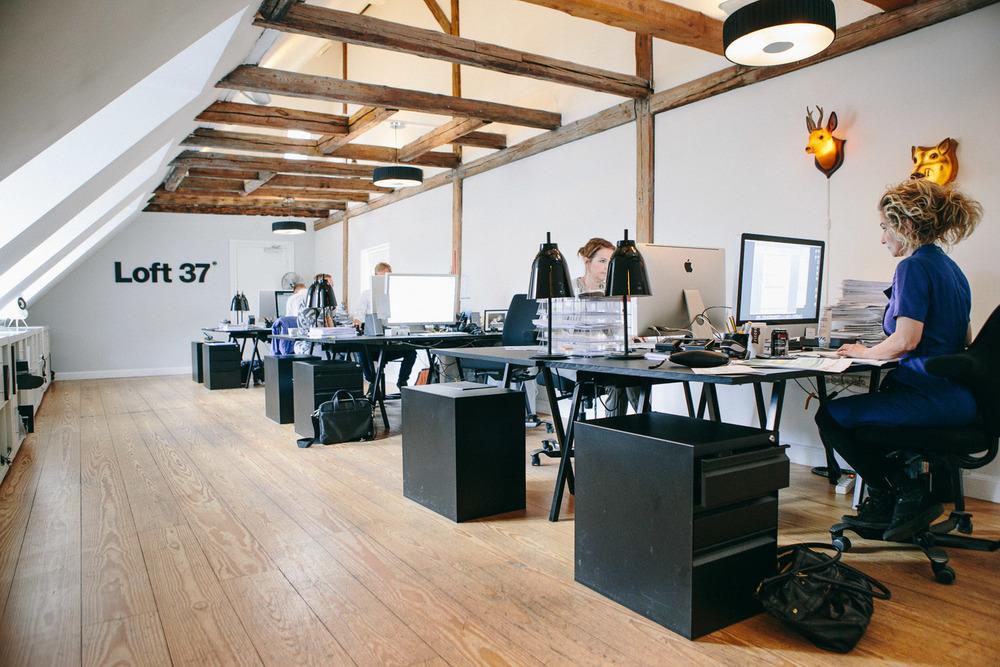 Loft37 kontormiljø