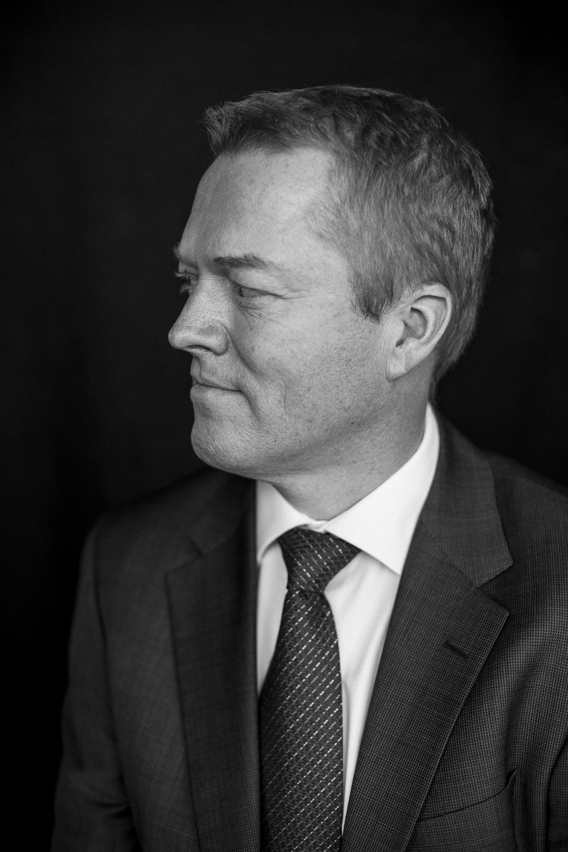 Portræt af Peter H. Tygesen, administrerende direktør i Riemann A/S