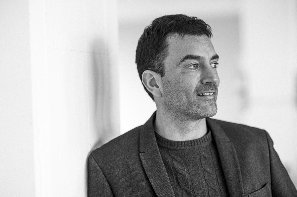 Portræt af Erling Daell, direktør for Harald Nyborg