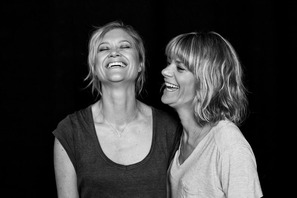 Portræt af Anna Søndergaard og Lis Beck, ejereog direktører for BeckSöndergaard
