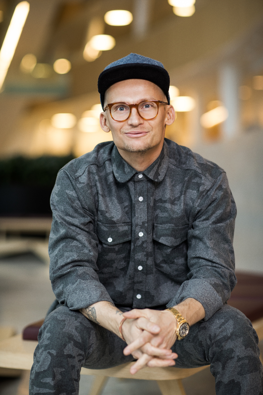 Portræt af Christian Stadil dommer ved Danish Beauty Award2014