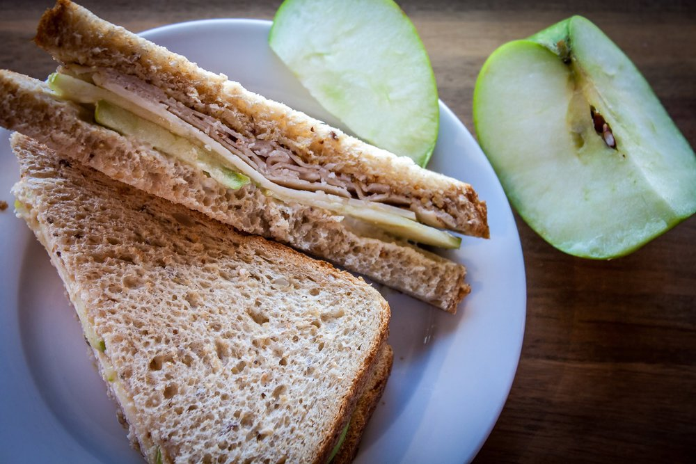 Chicken Apple Sandwich :: the twelve17 kitchen is up and running and producing lots of good healthy (and organic) options!