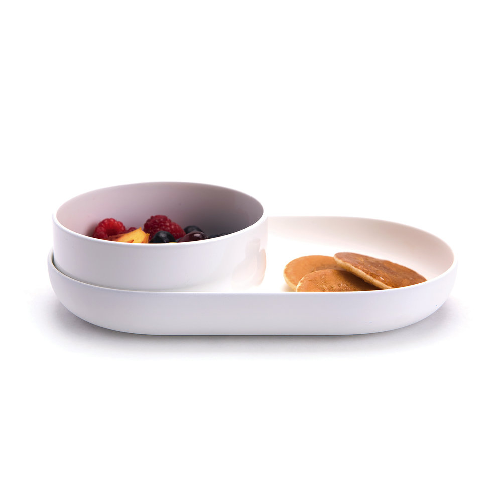 Nenu bowl plate 100% made in USA modern baby products